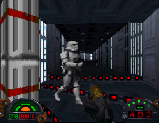 Screenshot Thumbnail / Media File 1 for Star Wars - Dark Forces [NTSC-U]